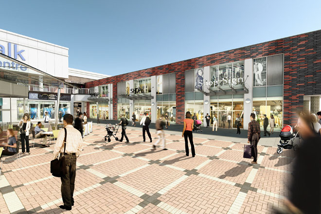 Burnley Shopping Centre Awake Architects